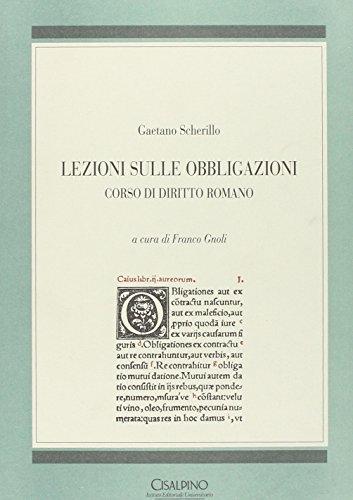 9788820507503: Lezioni sulle obbligazioni. Corso di diritto romano (Manuali)