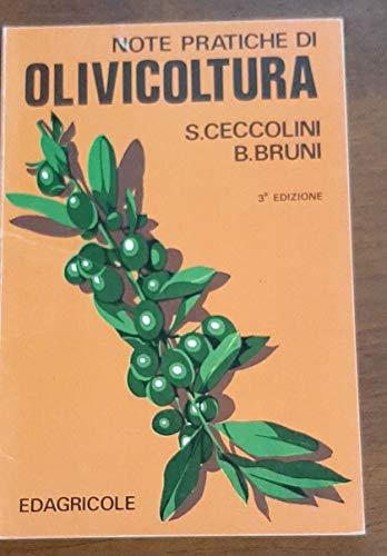 9788820603366: Note pratiche di olivicoltura