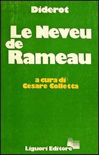 Le Neveu De Rameau (882070885X) by Diderot
