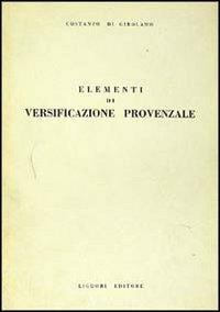 9788820709259: Elementi di versificazione provenzale