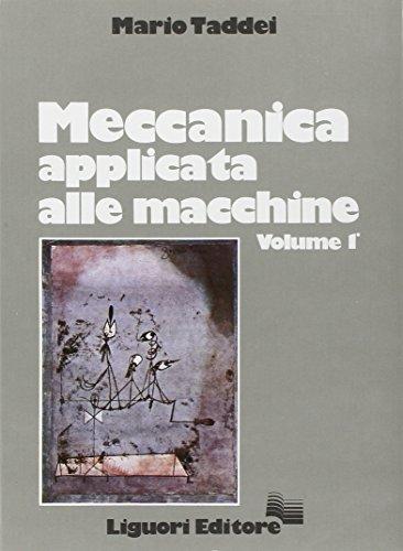 9788820710071: Meccanica applicata alle macchine (Italian Edition)
