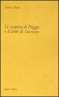 9788820710408: Le scoperte di Poggio e il testo di Lucrezio