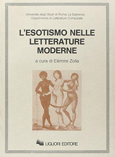 L'esotismo nelle letterature moderne: Elémire Zolla