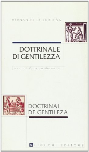 9788820727512: Dottrinale di gentilezza-Doctrinal de gentileza