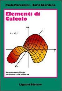 9788820736651: Elementi di calcolo. Versione semplificata per i nuovi corsi di laurea