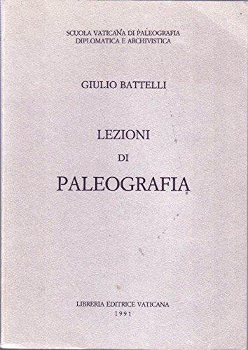 9788820914868: Lezioni di paleografia