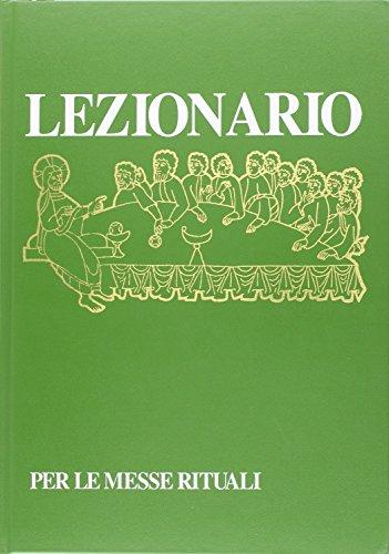 9788820917005: Lezionario per le messe rituali (Liturgia)
