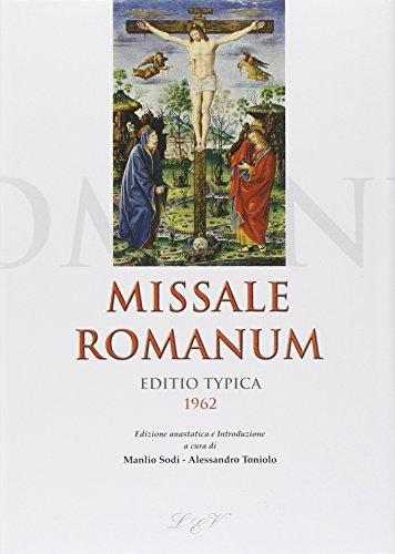 Missale romanum editio typica 1962 M. Sodi,