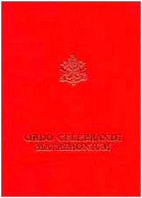 9788820979690: Ordo celebrandi matrimonium. Rituale romanum ex decreto Sacrosancti Oecumenici Concilii Vaticani II. Editio typica altera (Liturgia)
