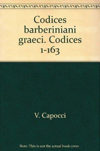 Codices barberiniani graeci. Codices 1-163.