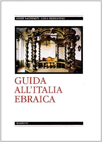 9788821189555: Guida all'Italia ebraica (Italian Edition)