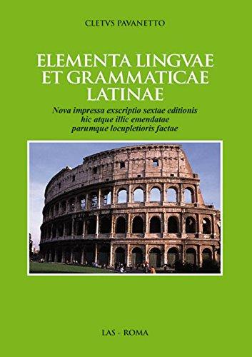 9788821307201: Elementa linguae et grammaticae latinae