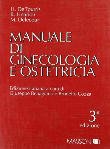 9788821422874: Manuale di ginecologia e ostetricia