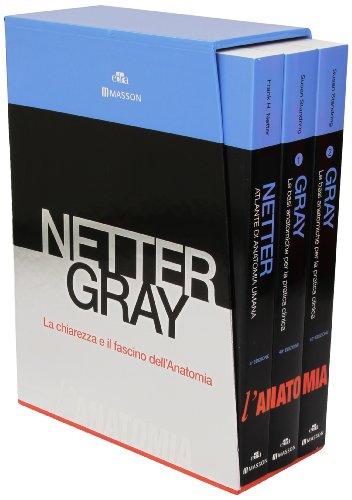 9788821438110: Netter Gray l'anatomia. La chiarezza e il fascismo dell'anatomia. Cofanetto