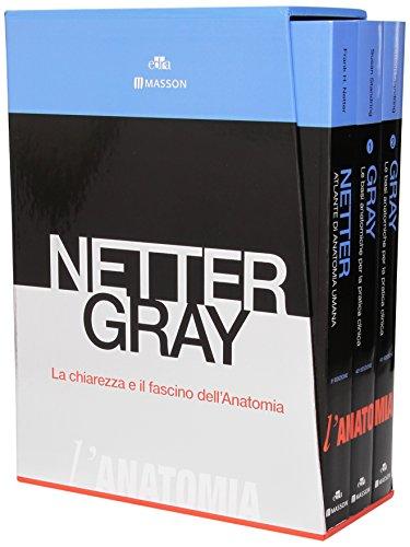 9788821439179: Netter Gray. L'anatomia. La chiarezza e il fascino dell'anatomia: Anatomia del Gray. Le basi anatomiche per la pratica clinica-Atlante di anatomi a umana