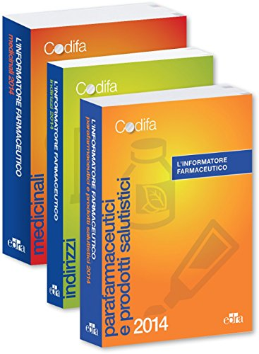 9788821439452: L'Informatore Farmaceutico 2014 - MEDICINALI E INDIRIZZI E PRODOTTI SALUTISTICI + INDIRIZZI - 3 volumes [ PDR - Physician's Desk Reference in Italian ] (Italian Edition)