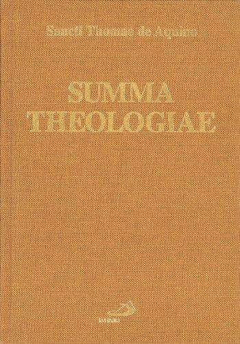 9788821515781: Summa theologiae (Reprint)