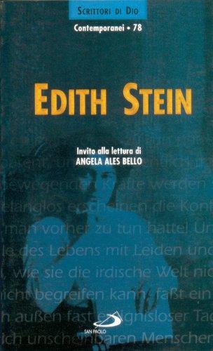 9788821539930: Edith Stein. Invito alla lettura