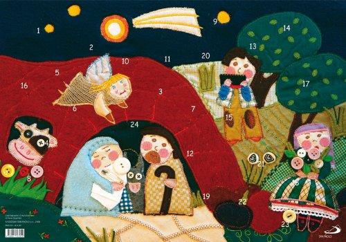 9788821563959: Calendario d'Avvento (Bimbi e Gesù)