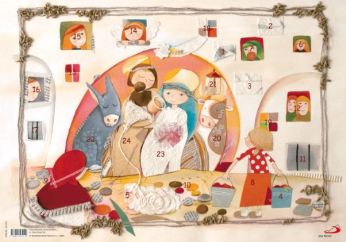 9788821565519: Calendario d'Avvento (Bimbi e Gesù)