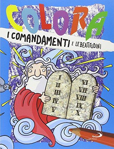9788821569234: Colora i comandamenti e le beatitudini