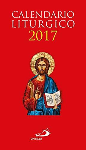 9788821598753: Calendario liturgico 2017 (Agende. Diari)