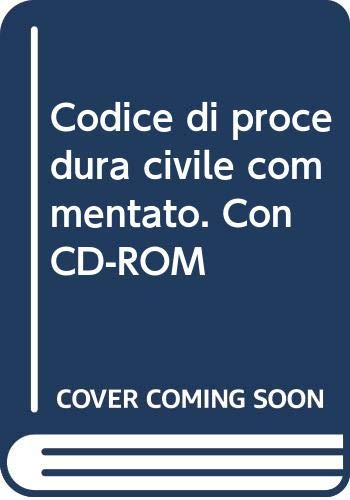 9788821723346: Codice di procedura civile commentato. Con CD-ROM