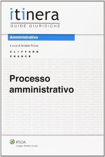 9788821742750: Processo amministrativo