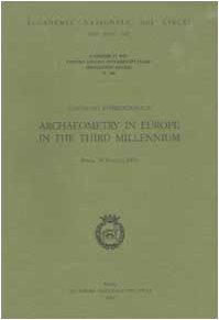 9788821808807: Convegno internazionale Archaeometry in Europe in the Third Millennium (Roma, 29-30 marzo 2001)
