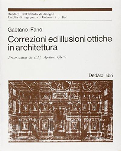 9788822018359: Correzioni ed illusioni ottiche in architettura