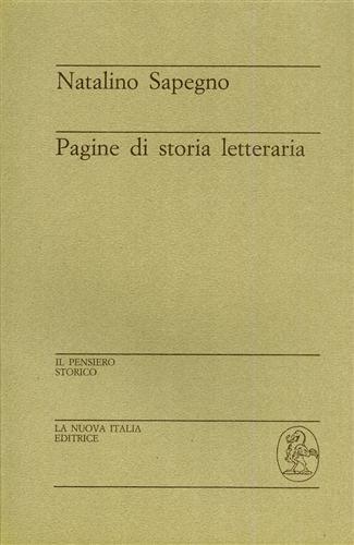 9788822101976: Pagine di storia letteraria