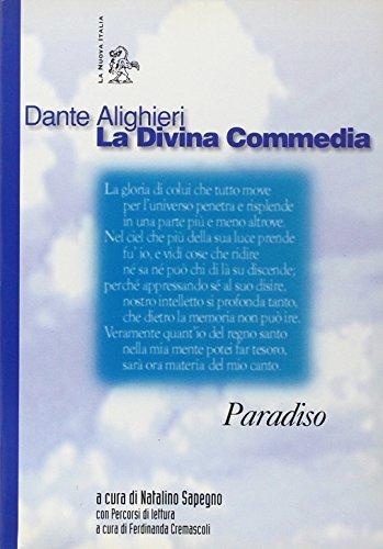 9788822119704: La Divina Commedia. Paradiso (Letture. Scrittori italiani)