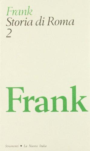 Storia di Roma.: Frank,Tenney.