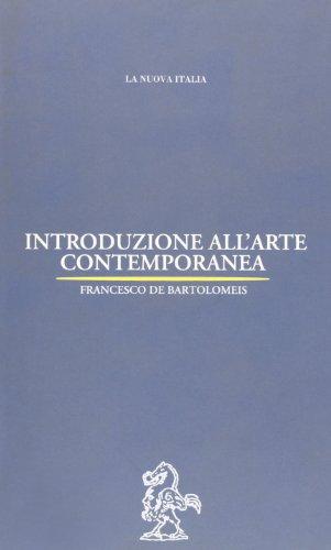 Introduzione all'arte contemporanea: De Bartolomeis, Francesco