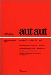 9788822139696: Aut aut (305-306)