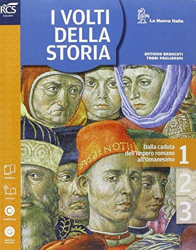 9788822183620: I volti della storia. Cittadinanza-Atlante storico. Per la Scuola media. Con espansione online: 1