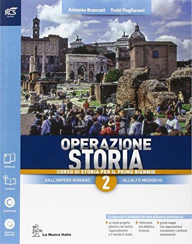9788822187536: Operazione storia. Con extrakit-Openbook. Per le Scuole superiori. Con e-book. Con espansione online (Vol. 2)