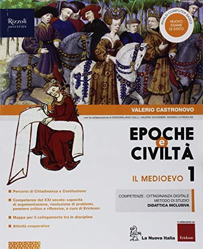 9788822192677: Epoche e civiltà. Con Quaderno. Per la Scuola media. Con ebook. Con espansione online: 1
