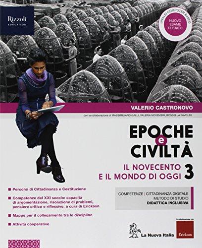 9788822192691: Epoche e civiltà. Con Quaderno. Per la Scuola media. Con ebook. Con espansione online: 3