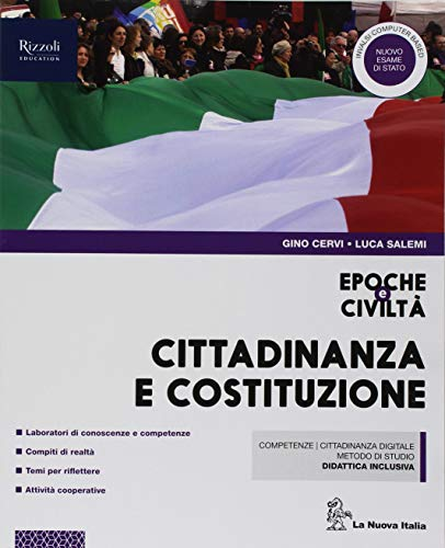 9788822192714: Epoche e civiltà. Cittadinanza e Costituzione. Per la Scuola media. Con ebook. Con espansione online