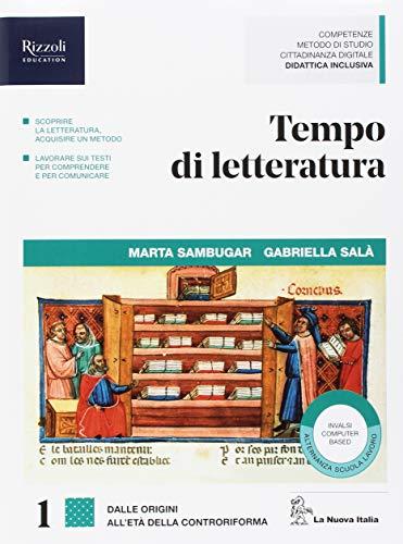 9788822195845: Tempo di letteratura. Con Quaderno di metodo. Per le Scuole superiori. Con ebook. Con espansione online: 1