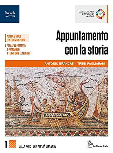 9788822196811: Appuntamento con la storia. Per le Scuole superiori. Con e-book. Con espansione online. Con Libro: Atlante (Vol. 1)