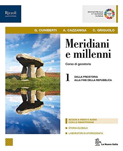 9788822198839: Meridiani e millenni. Per le Scuole superiori. Con e-book. Con espansione online. Con Libro: Atlante: 1