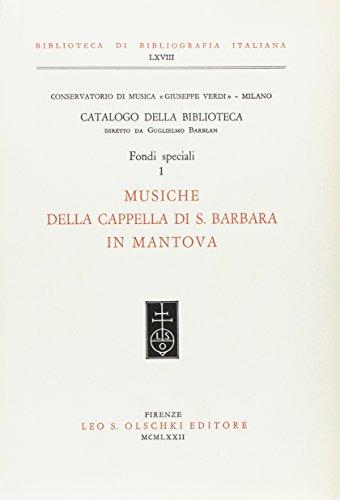 """CATALOGO DELLA BIBLIOTECA DEL CONSERVATORIO DI MUSICA """"GIUSEPPE VERDI"""" DI MILANO. Diretto..."""