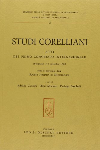 9788822211804: Studi Corelliani