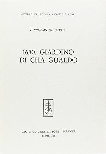 9788822217325: Il Giardino Di Cha Gualdo