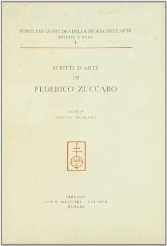 SCRITTI D'ARTE.: ZUCCARO Federico.