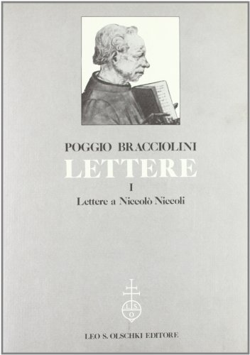 LETTERE. 1884-1987.: BRACCIOLINI Poggio.