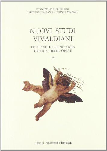 NUOVI STUDI VIVALDIANI. Edizioni e cronologia critica delle opere. Atti del convegno.: FANNA A. / ...