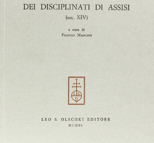 """IL LAUDARIO """"FRONDINI"""" DEI DISCIPLINATI DI ASSISI (sec. XIV).: MANCINI F. (a cura di)."""